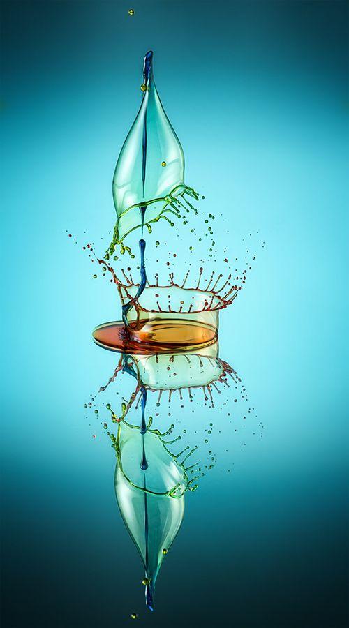 """""""Liquid Sculpture"""" by Markus Reugels"""