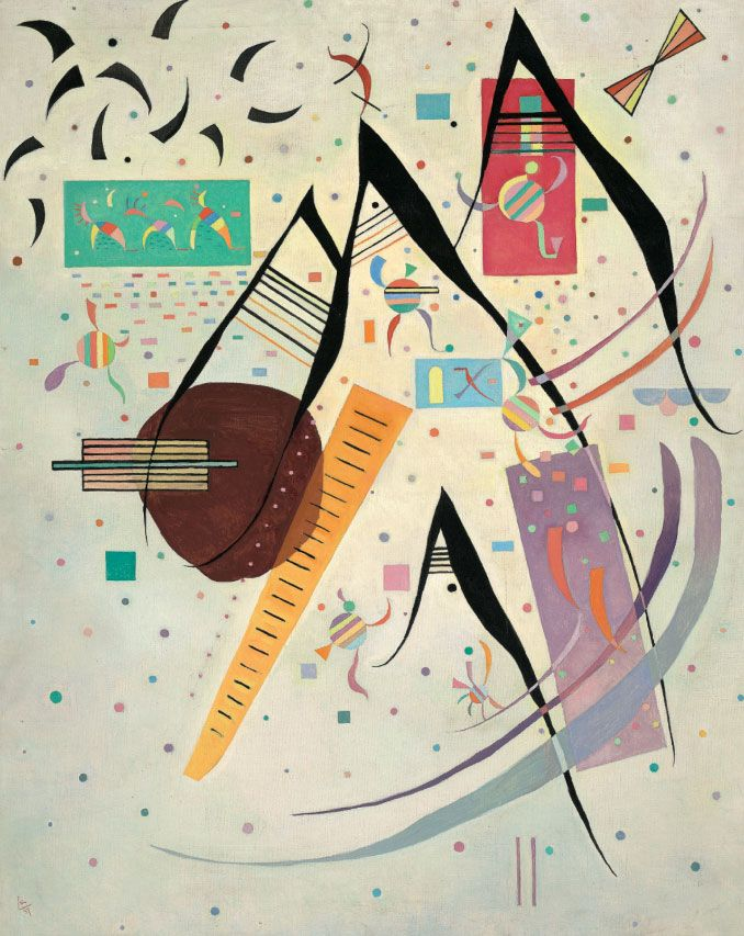 Wassily Kandinsky - Black Points, 1937