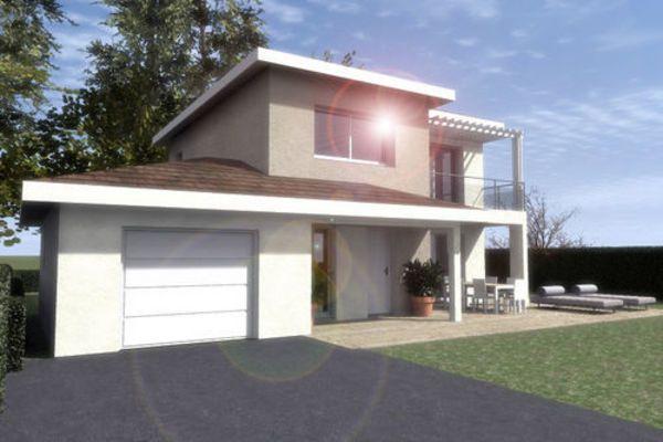 Vente Maison construisez votre villa avec Tradition logis env 90m²  à La roche-sur-foron