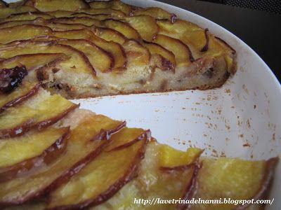 La vetrina del Nanni: Budino di Pan Brioche alle Pesche fancy italian bread pudding