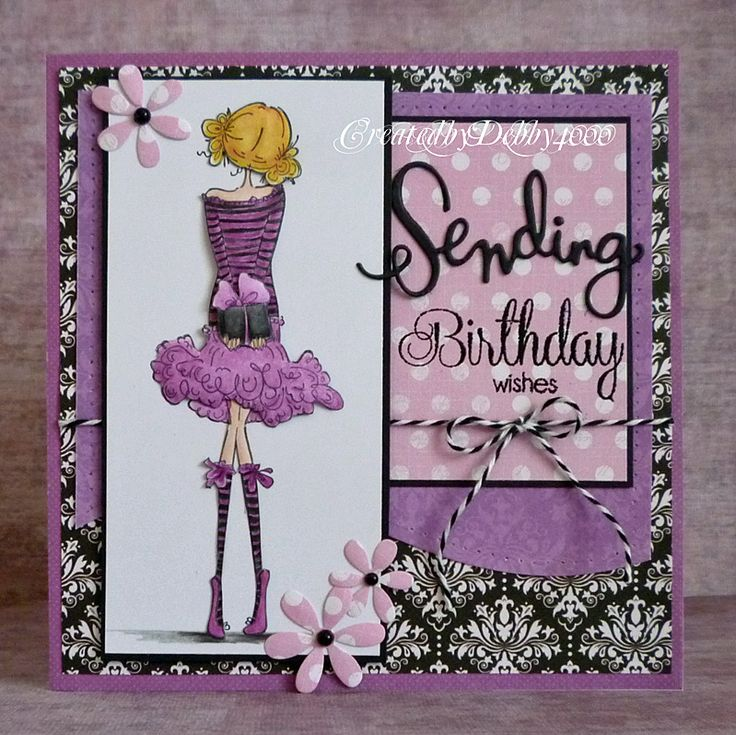 309 best Card Making Teenage Girls images – Sophisticated Birthday Cards