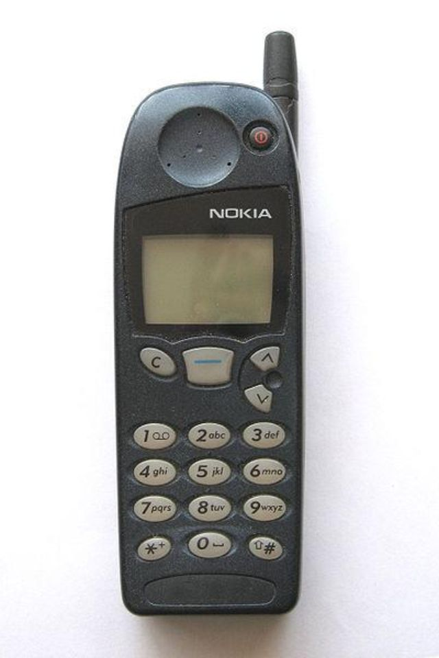 Nokia - my first cell phone