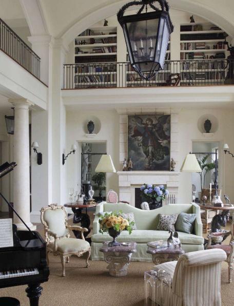 Matthew White   Classic Italian Style Home · White Interior DesignWhite ...