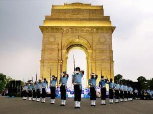 Indian Air Force's Air Warriors Drill Team