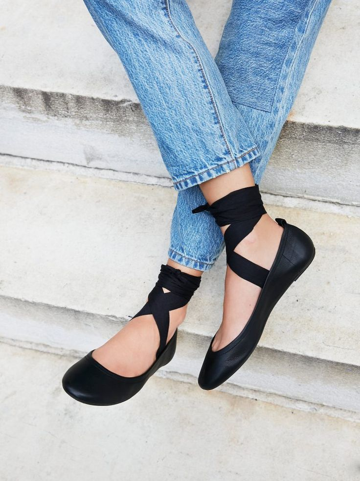 Love these basic ballet flats.