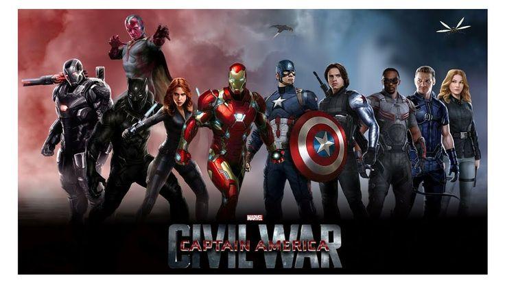 Captain America:civil war  2016 । Chris Evans । Robert Downey Jr.। Civil...