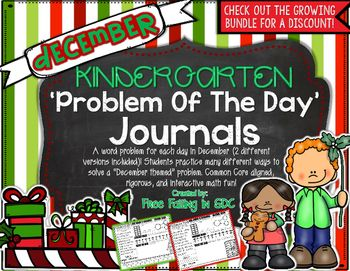 Word problems are always such a struggle for my kiddos, especially my KDG babies. I created these problem of the day journals to help my students become more independent in this very important and somewhat overwhelming skill, at a level that they can reach.
