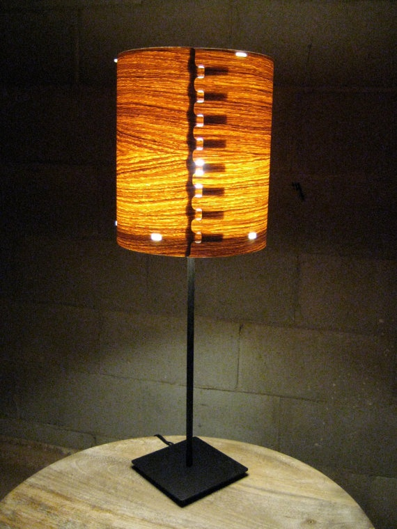 Make Wall Lamp Shades : The 104 best images about LAMP VENEER on Pinterest Floor lamps, Wood lamps and Lamp shades