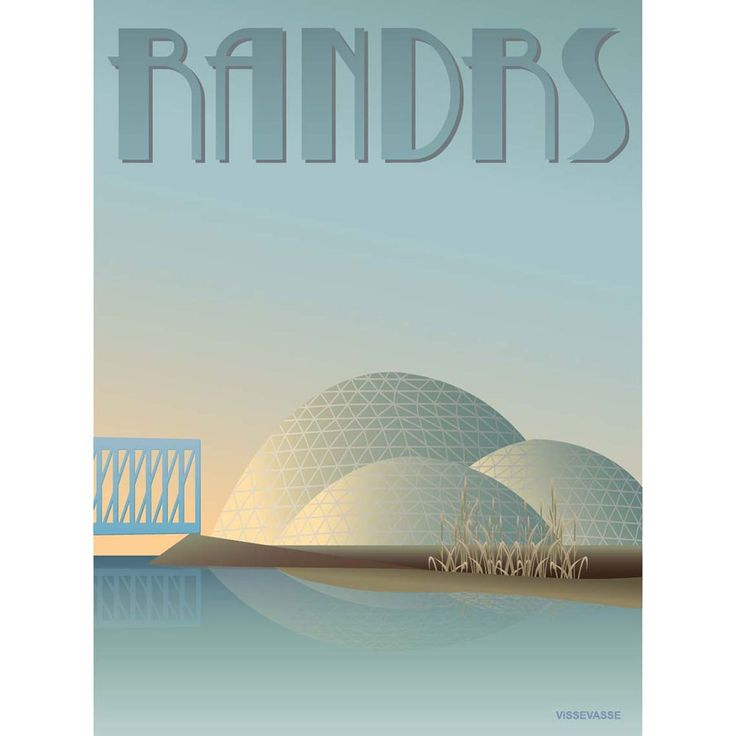 RANDERS - Regnskoven, 50x70 cm