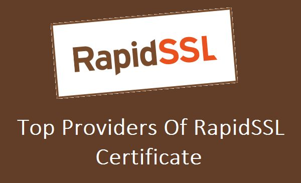 Get primary level SSL Certificate from RapidSSL. Due to best price and strong encryption and 99.99% browser compatibility RapidSSL Certificate is well-known amongst the individuals and organisation. There are two types of certificate available in RapidSSL they are RapidSSL Certificate & RapidSSL Wildcard.