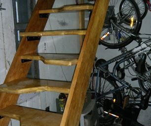 alternating tread stairs attic ideasloft