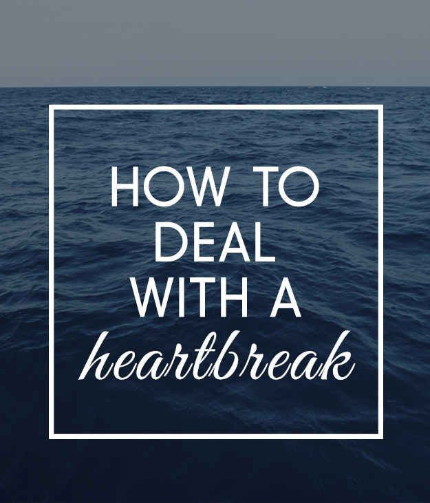We asked the BuzzFeed Community for their best advice for dealing with heartbreak. Here's what they had to say: