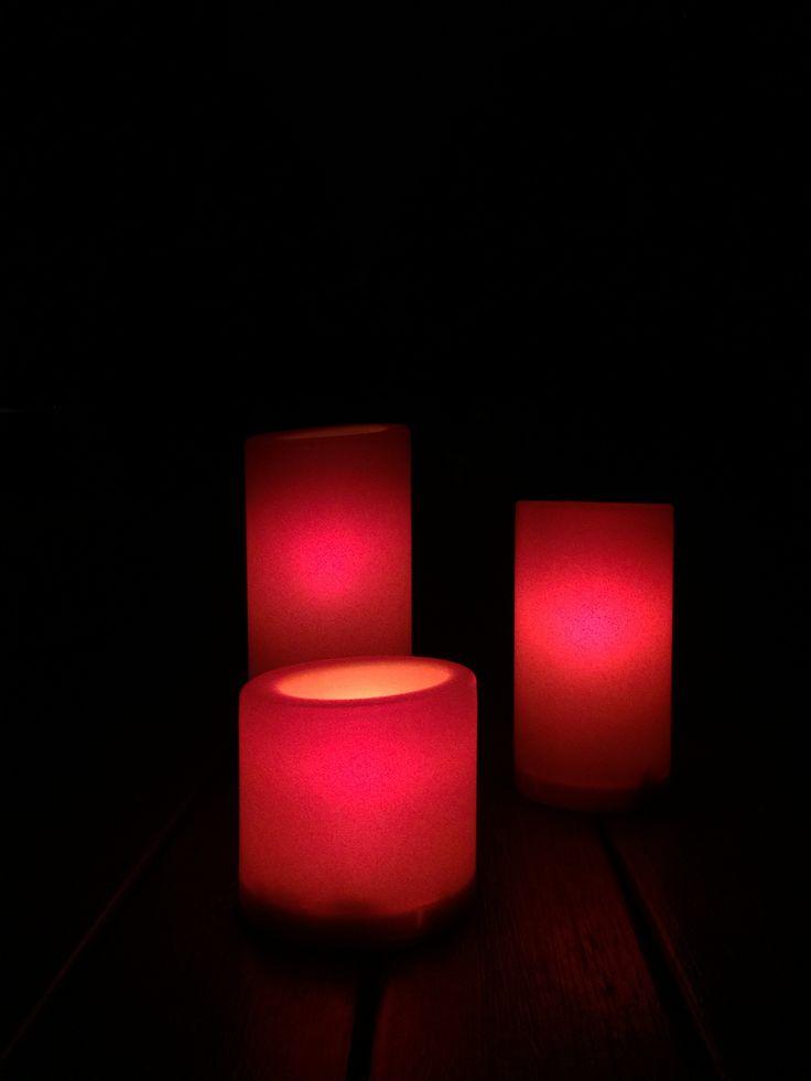 3 candles - No filter