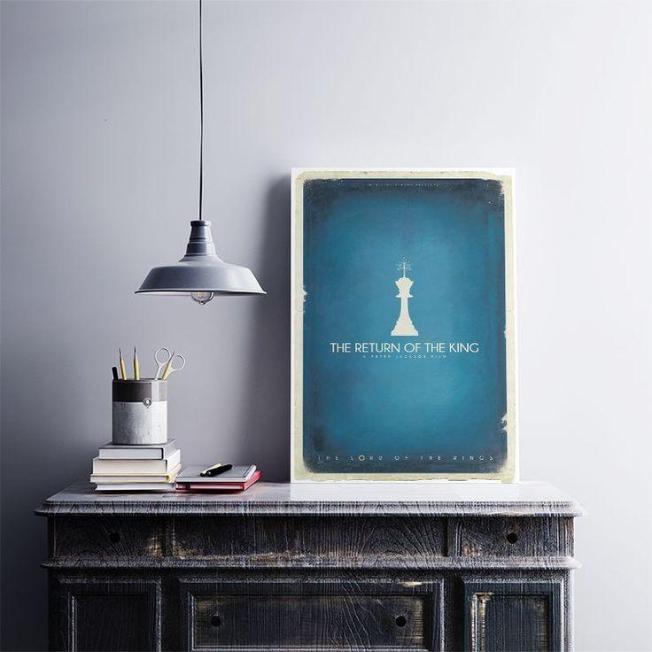 Kralın Dönüşü - Metal Plaka Poster 40X28 cm ebatlarında javvuz kalitesiyle…
