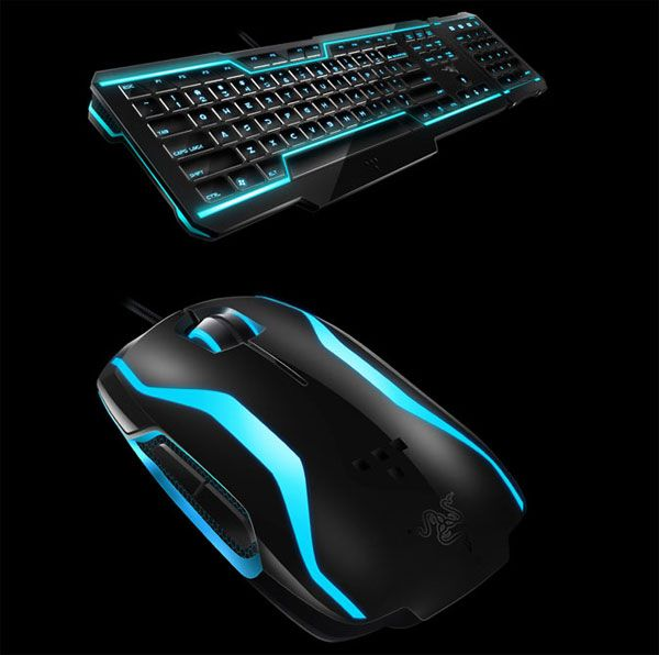 Razer TRON Gaming Keyboard and Mouse Will Up Your Geek Cred   Technabob   Gadgets, Gizmos and Geekery