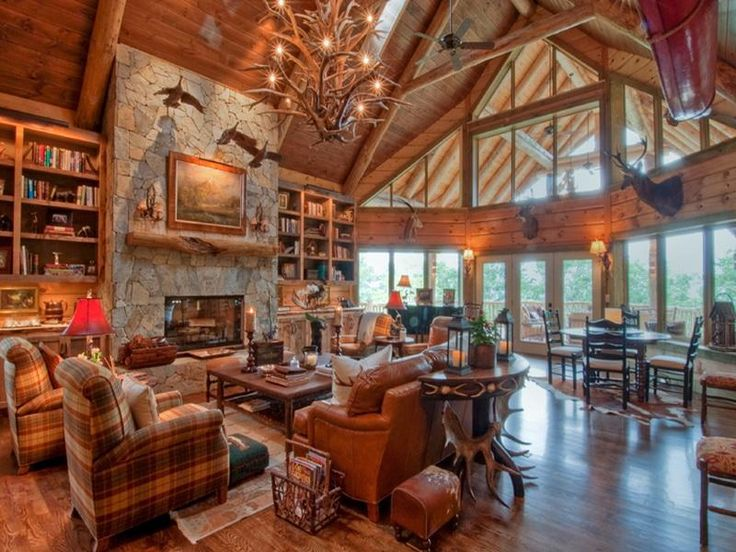 23 best old lake house interiors images on pinterest | house
