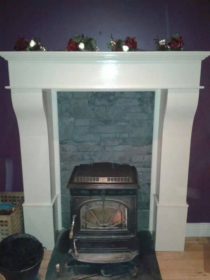 A 7ft high Custom made fire surround