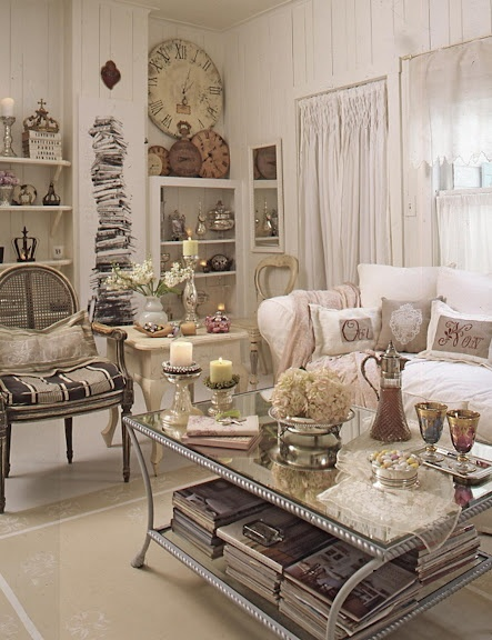 Romantic Room Decoration: Romantic Prairie Style Images On