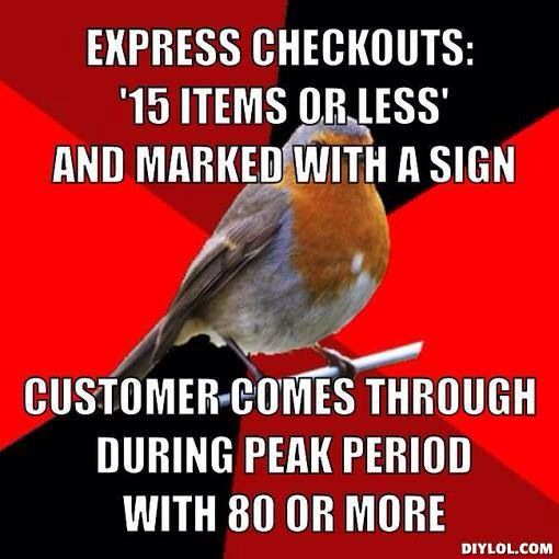Why do cashiers hate couponers