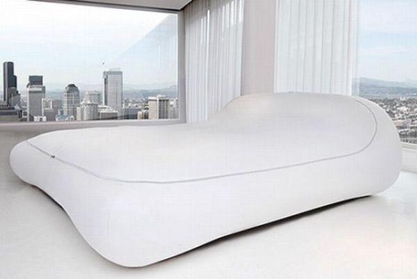 Модная кровать - спальный мешок для создания оригинальной спальни