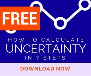 Learn to calculate measurement uncertainty with my free guide. Download it now!