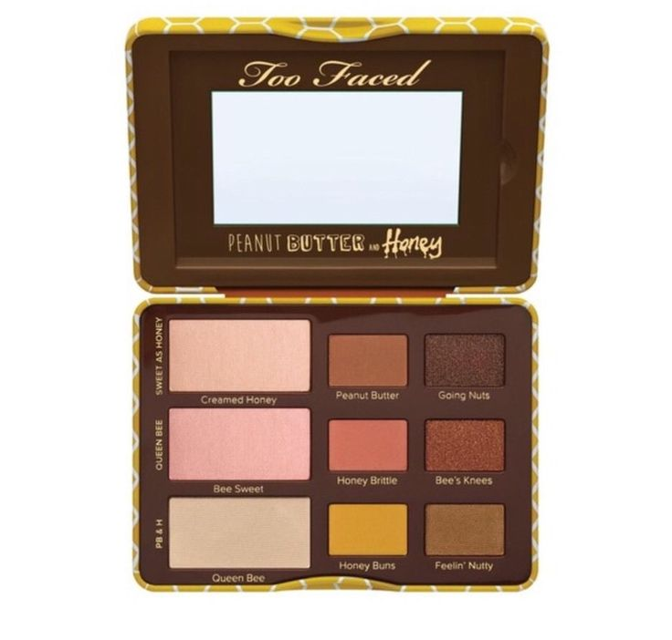 Too Faced PEANUT BUTTER & HONEY EYE SHADOW COLLECTION - AUTHENTIC!  | eBay