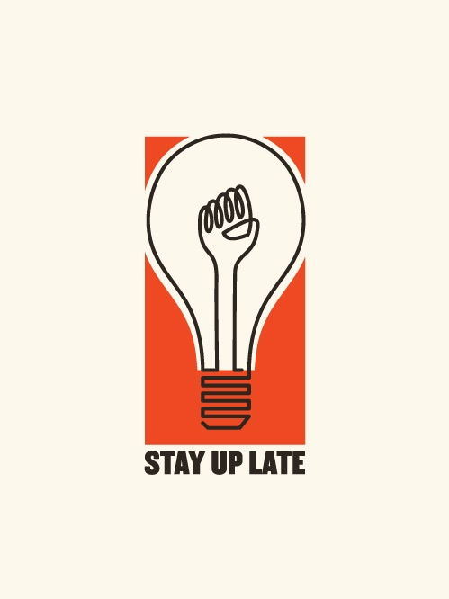 Stay up late lightbulb