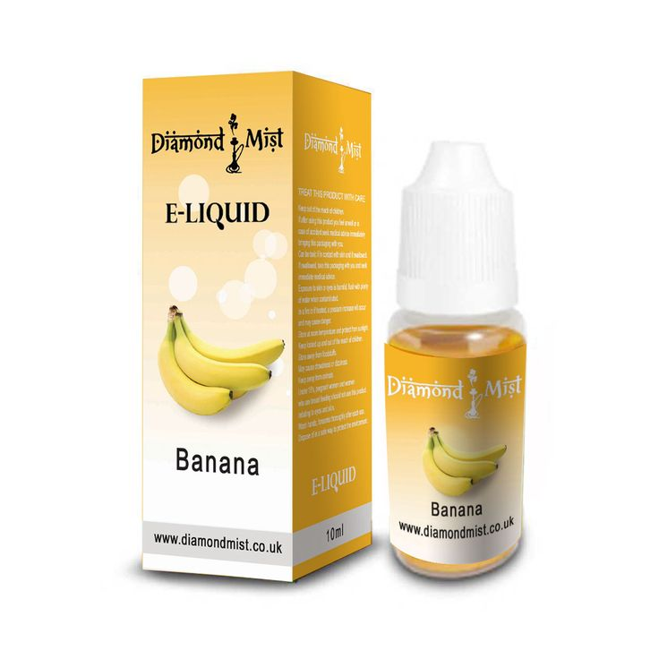 Diamond Mist – E-Líquido Sabor Banana (Plátano)
