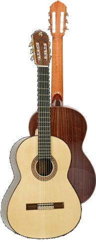Ver Modelo B70 Guitarra Clásica del Constructor Francisco Bros, en el Blog de guitarra Artesana