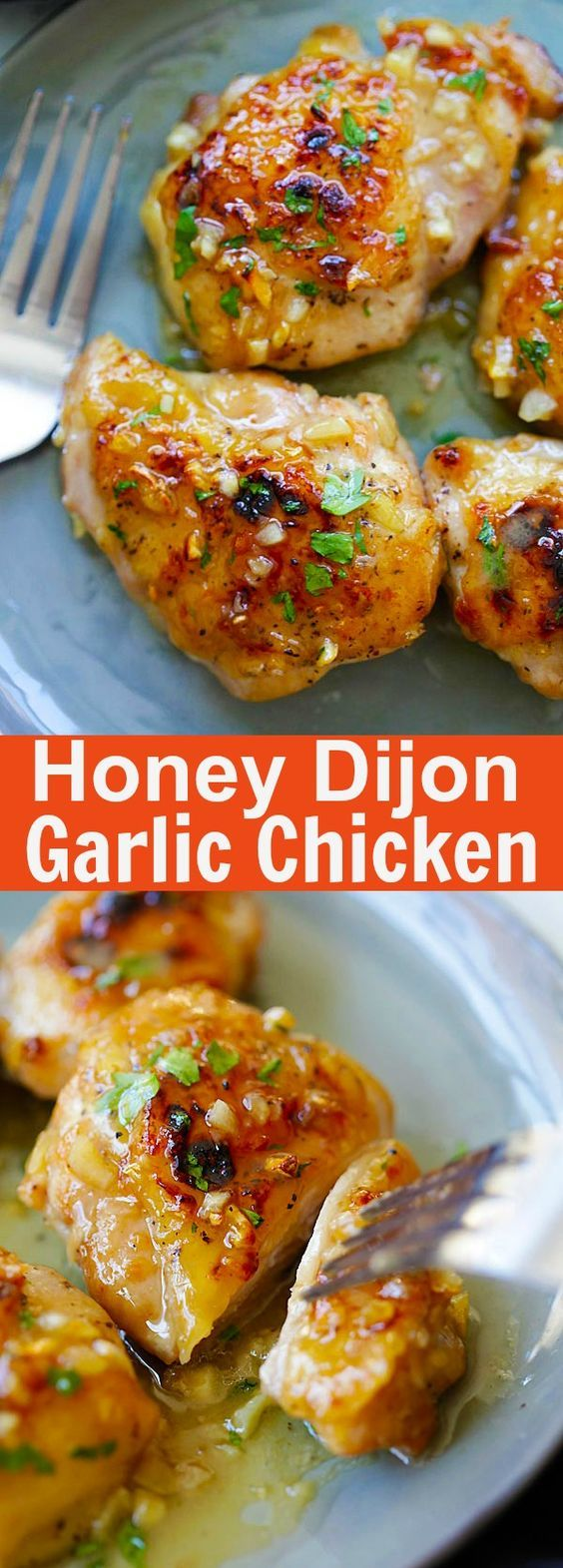 Honey Dijon Garlic Chicken Recipe | Cake And Food Recipe