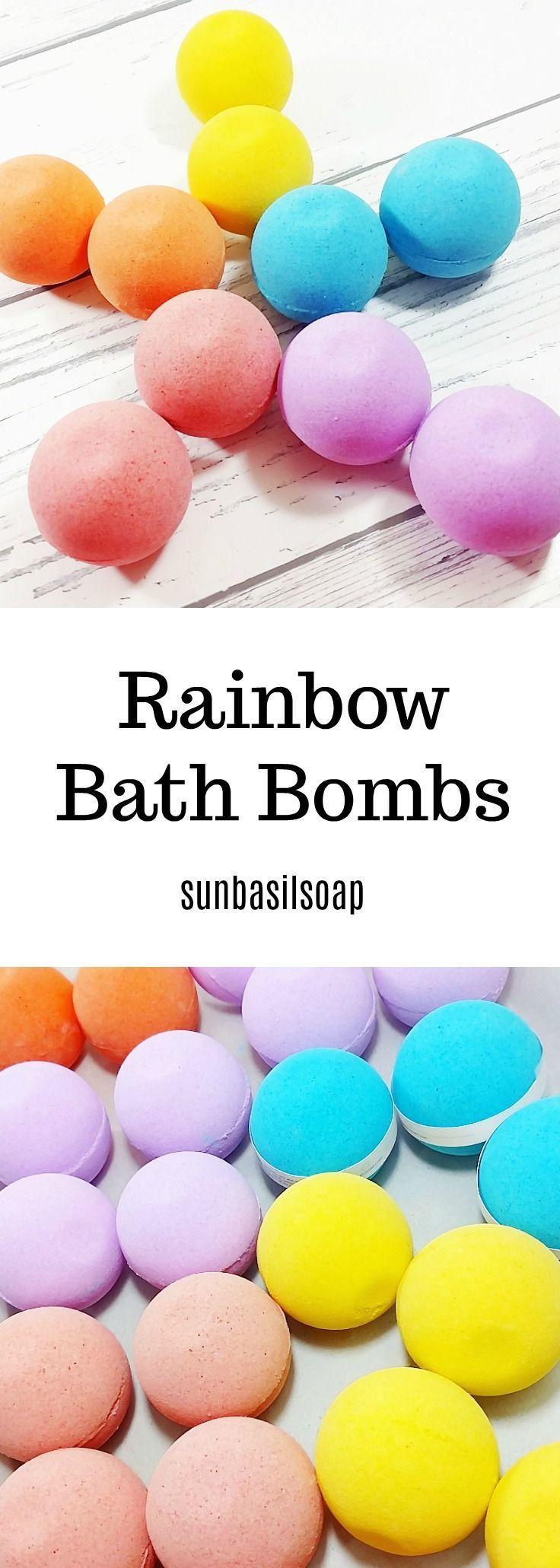 cloud rainbow bath bomb - 736×2061