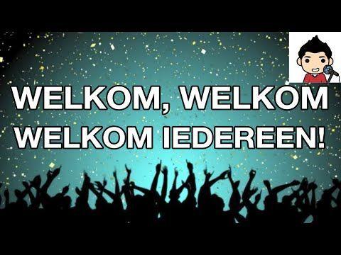 YouTube: welkom, welkom, welkom iedereen! Leuke meezinger om bijvoorbeeld de muziekles mee te beginnen.