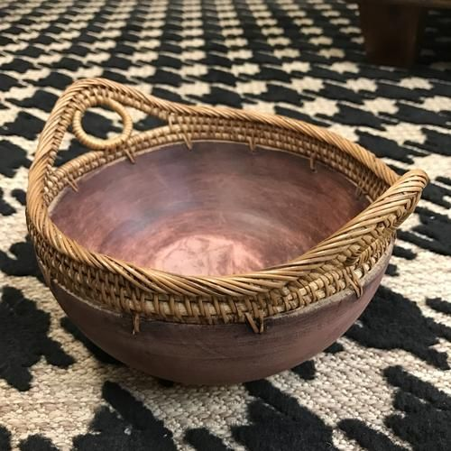 Vintage African Decorative Bowl