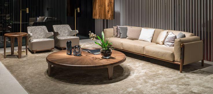 Giorgetti Urban Sofa Cozy Armchair Round Coffee Table Amp Side Table Nahoor Mahari Floor