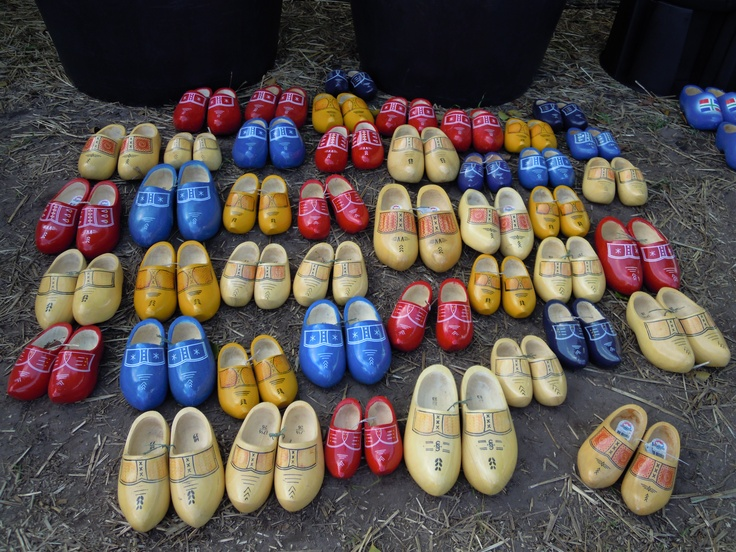 Wooden shoes, anyone?