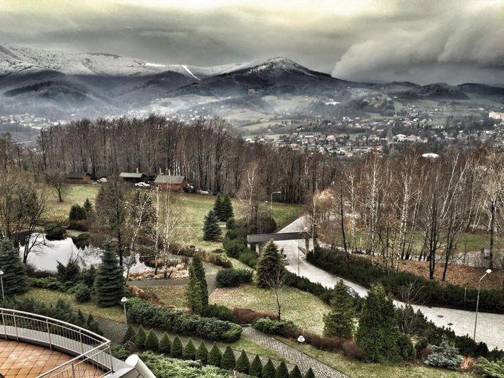 Wygląda na to że #zima do nas zmierza. Pięknie prawda? // It looks like #winter is coming to us. Beautiful, isn't it?  (fot. Sandra Maria Bartos)