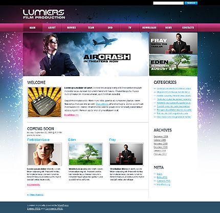 Film Production WordPress Themes by Hugo
