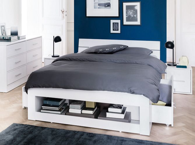 5 rangements au bout de mon lit