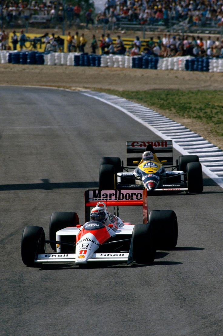 Alain Prost vs Nigel Mansell (Spain 1988)