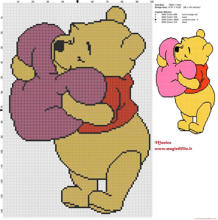 126 best winnie the pooh images on Pinterest Cross stitch - winnie pooh küche