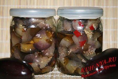 Маринованные баклажаны, как грибы (на зиму)