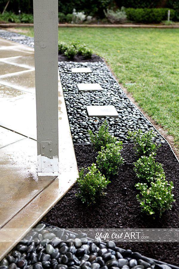 best 20+ rock garden borders ideas on pinterest | landscaping ... - Patio Border Ideas