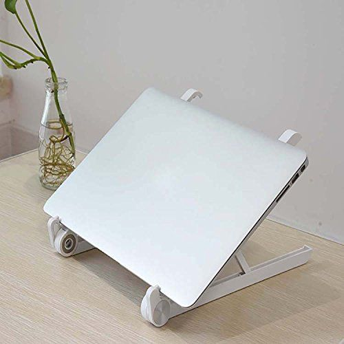 Premium Laptop Stand by The Happy Swiss. Universal Portable and Foldable. Promotes Good Posture Preventing Back Pain Shoulder Pain Jaw Pain and Headaches. | Computers and Accessories Accessories and Peripherals Laptop Accessories | Best news...