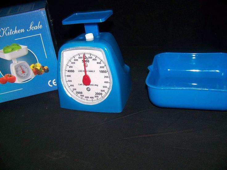 Balanza de cocina color azul NUEVA!!!!!! kitchen scale!!!