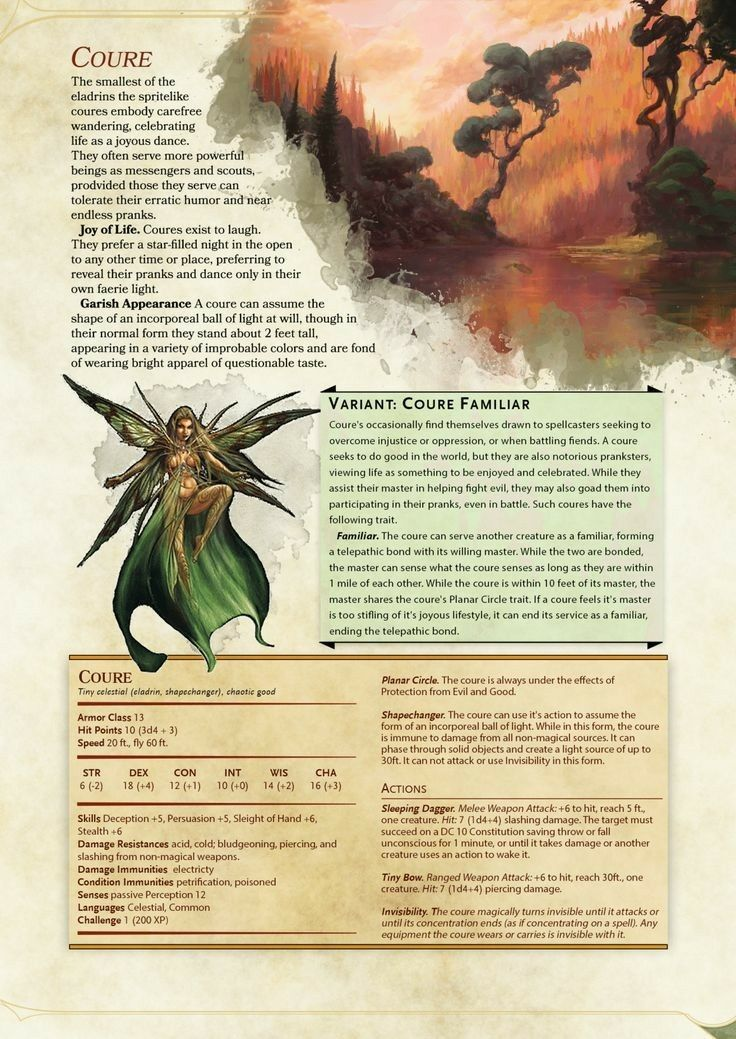 Coure Cr 1 Dungeons And Dragons Homebrew Dnd 5e Homebrew D D Dungeons And Dragons
