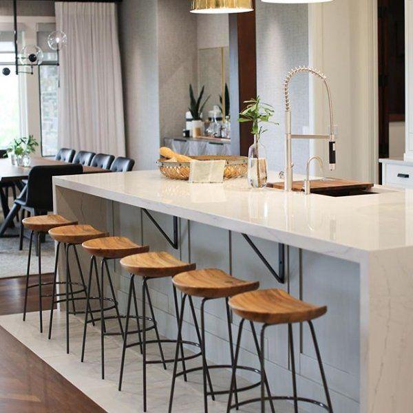 Alden Bar Amp Counter Stools Steel Modern Kitchen Room