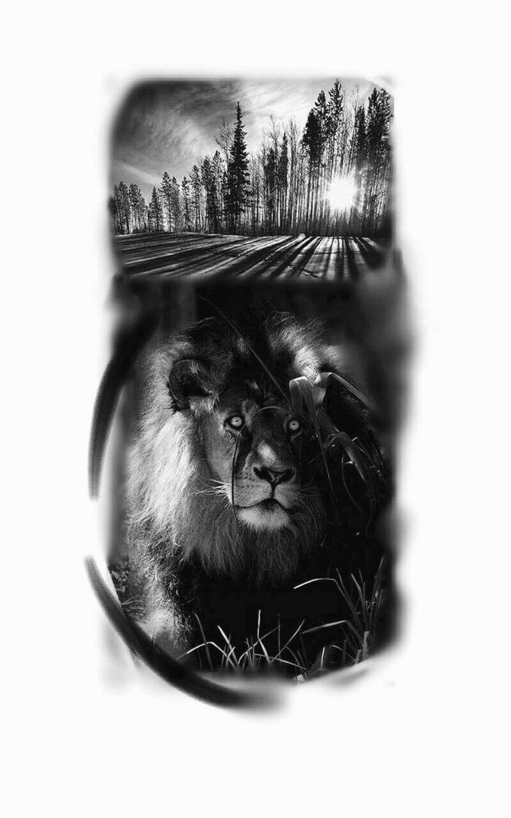 Lion tattoo, tatuagem de leão