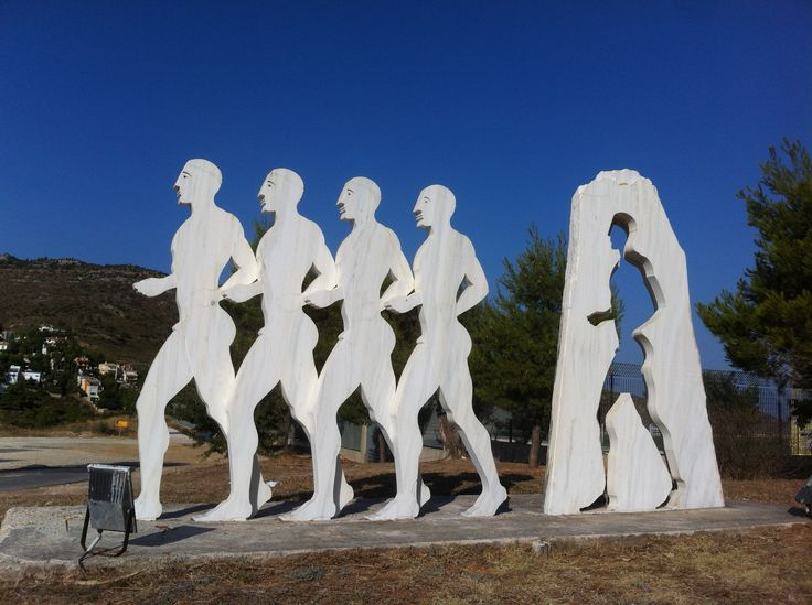 Statue of Runners.
