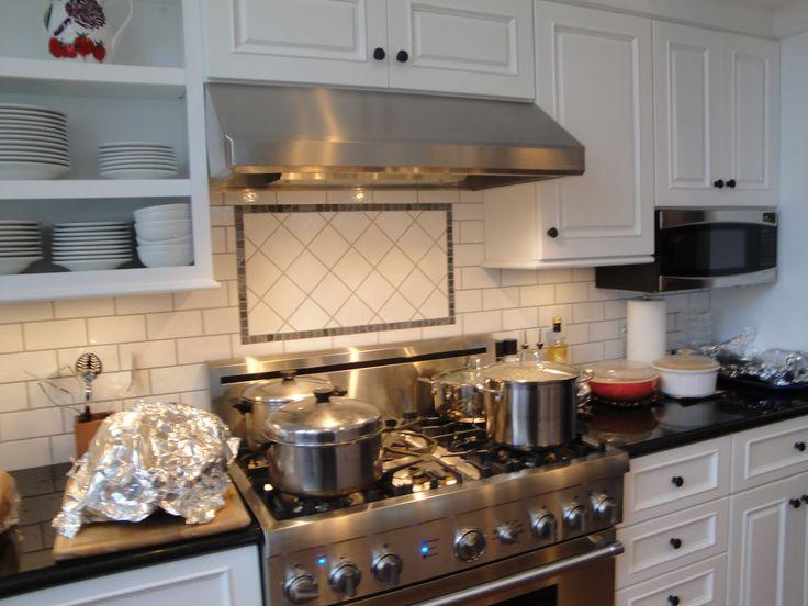 17 best images about kitchen renovation ideas on pinterest stove new kitchen and vintage kitchen - Stunning backsplash designs for behind ranges ...