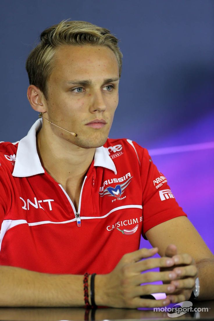 "Max Chilton, Marussia F1 Team during the press conference, ""Gezz, are they ever going to ask me a question?"""